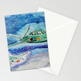 Three group flights Stationery Cards