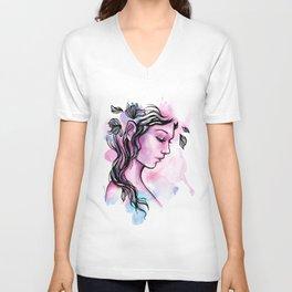 Ink Fairy Unisex V-Neck