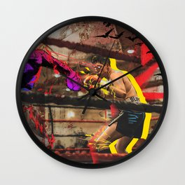 The Champ Wall Clock