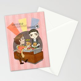A Little Imagination Stationery Cards