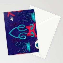 Night's Look Stationery Cards