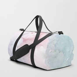 Pattern from colored water Duffle Bag