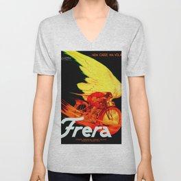 Vintage Frera Bike Poster Unisex V-Neck