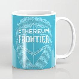 Ethereum Frontier (blue base) Coffee Mug