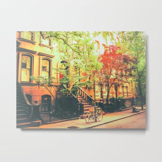 New York City Summer Metal Print