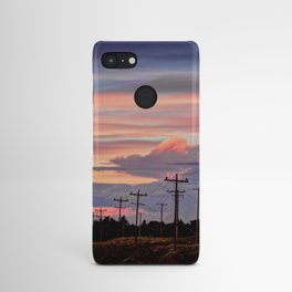 Prarie Sunset, Alberta Android Case