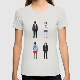 Pulp Fiction - Versions of Jules Winnfield and Vincent Vega  T-shirt