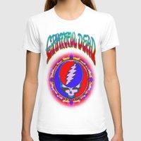 grateful dead T-shirts featuring Grateful Dead #10 Optical Illusion Psychedelic Design by CAP Artwork & Design
