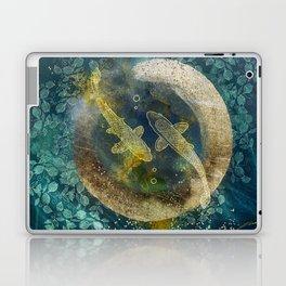 Abundance in blue Laptop & iPad Skin