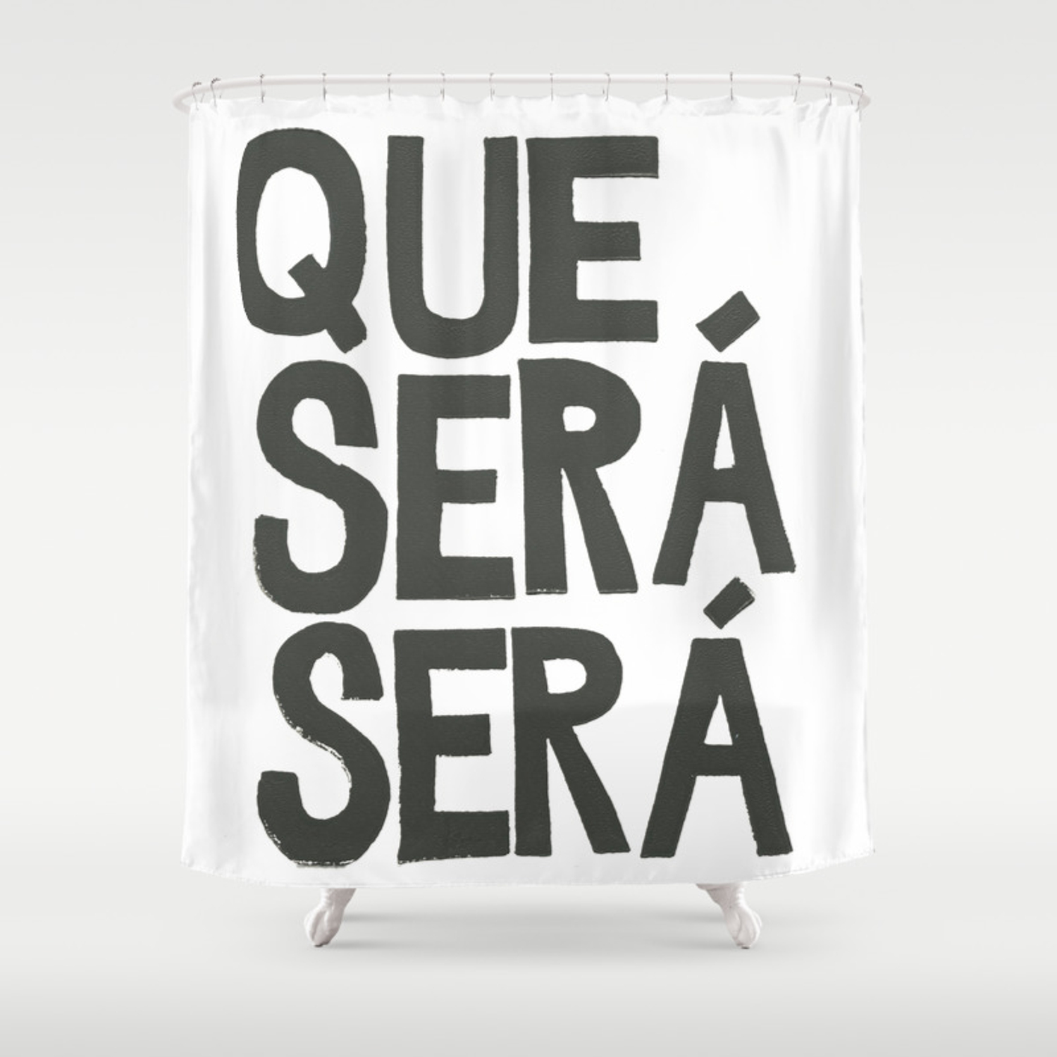 Que Sera Sera Shower Curtain By Juliahendrickson Society6
