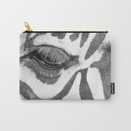 eyes Zebra Carry-All Pouch