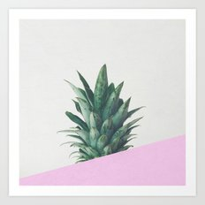 Pineapple Dip Art Print