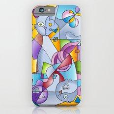 Cubist Cats - The Mininos Slim Case iPhone 6s
