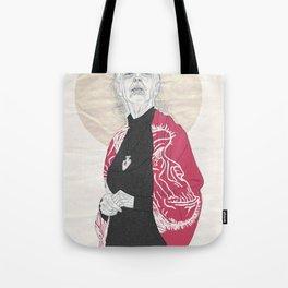 Jane Goodall Tote Bag