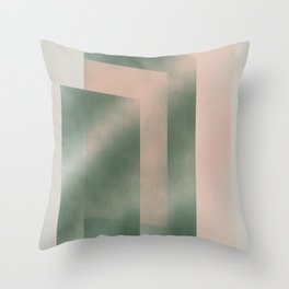 Dimensional mirrors Throw Pillow