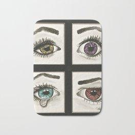 Eyes Show Emotions Bath Mat