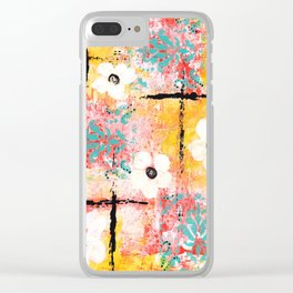 SUNSHINE & DAISIES Clear iPhone Case