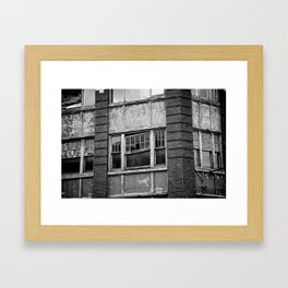 Industrial Decay Framed Art Print
