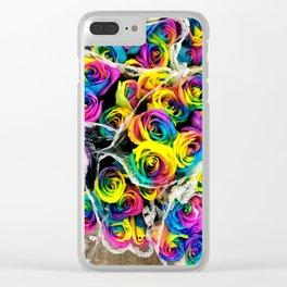 LA Flower Market Clear iPhone Case