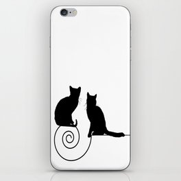 les chats #1 iPhone Skin