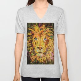 Soul of a Lion Unisex V-Neck