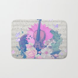 "VIOLIN by collection ""Music"" Bath Mat"