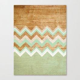 Wood Leinwanddruck