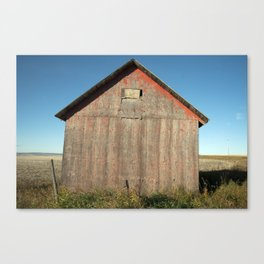 672 Grain Sheds 2 Canvas Print