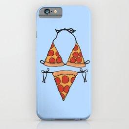 Pizza Bikini iPhone Case