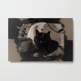 Cat Vision Metal Print