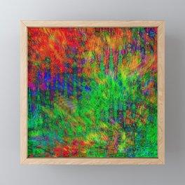 Exploded Pattern Framed Mini Art Print