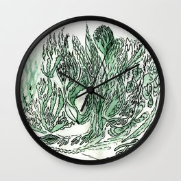 saltwater sleepy shakes Wall Clock