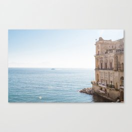 Donn'Anna Palace Canvas Print