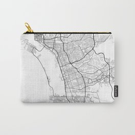 Minimal City Maps - Map Of Chula Vista, California, United States Carry-All Pouch