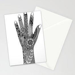 Henna Hand Stationery Cards