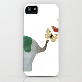Elephant and friends iPhone Case