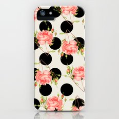 MIXED FLORAL Slim Case iPhone (5, 5s)