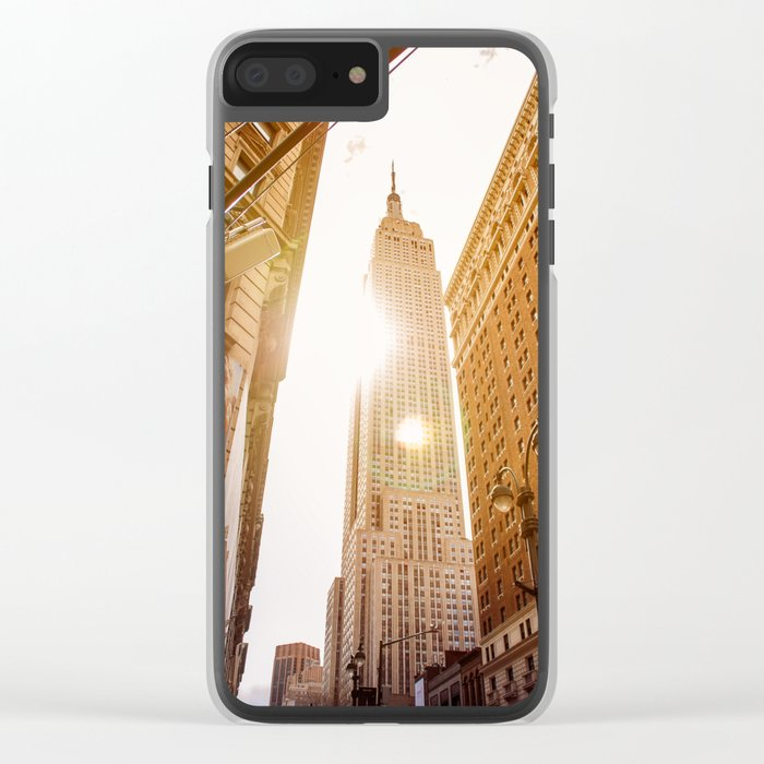 Empire forever Clear iPhone Case