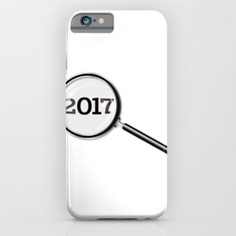 2017 Magnifying Glass iPhone Case