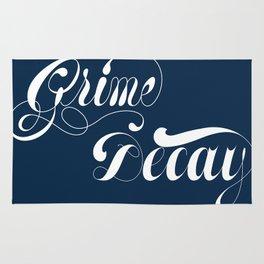 Grimey Type. Rug