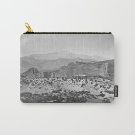 Pikes Peak and the Garden of the Gods, looking over the Gateway. Carry-All Pouch
