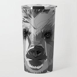 BEAR CUBISM Travel Mug
