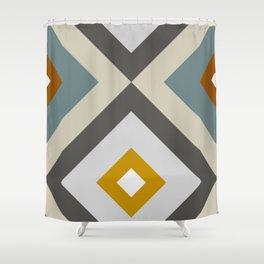 Mid West Geometric 04 Shower Curtain