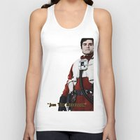 poe Tank Tops featuring Poe by KL Design Solutions