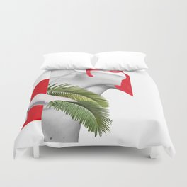 New Forms of Interaction Duvet Cover