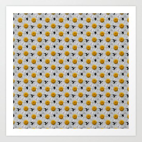 DAISY CHAINS Art Print