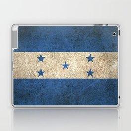 Old and Worn Distressed Vintage Flag of Honduras Laptop & iPad Skin