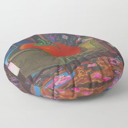 Therapy With A Tomato Milton Glaser - Tomato- Something unusual is going on here - 1978 Floor Pillow
