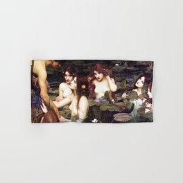 HYLAS AND THE NYMPHS - WATERHOUSE Hand & Bath Towel