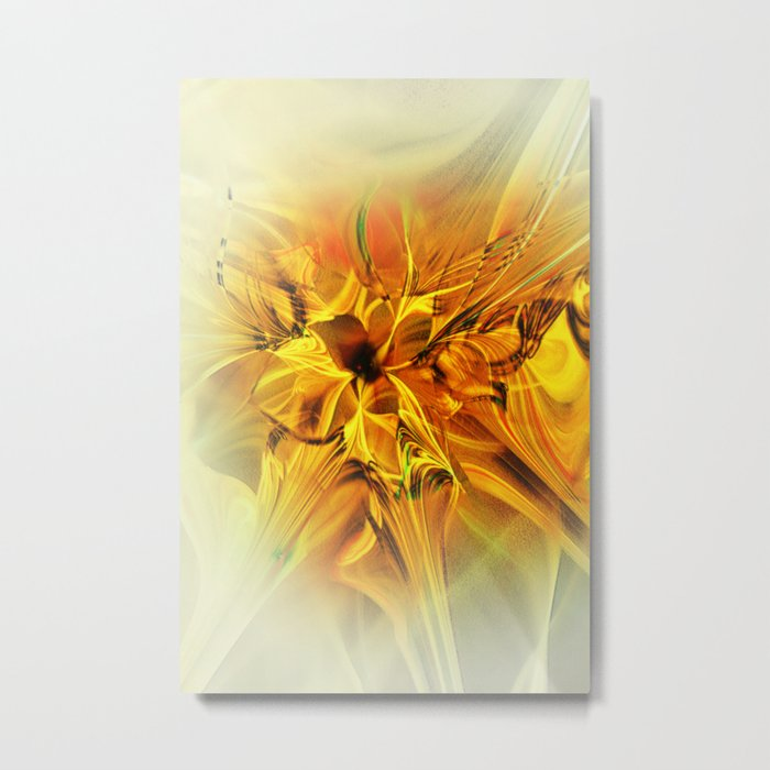 Fractal Beauty Metal Print